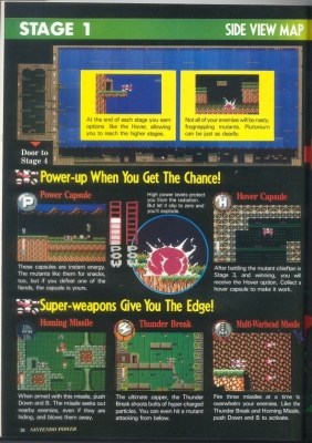 Blaster Master Special Feature