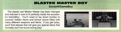 Blaster Master Boy article
