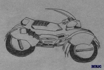 Sophia Bike doodle